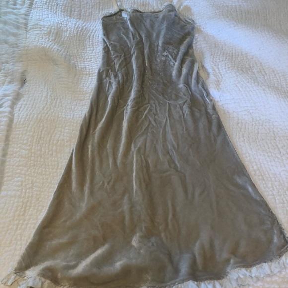 7eb8982fbc74 dosa Dresses & Skirts - Dosa Silk Velvet slip dress